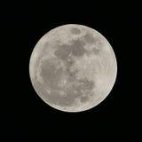 Toppen fullmåne Arkivfoto