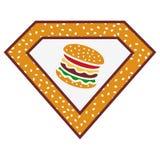 Toppen hamburgare Royaltyfri Bild