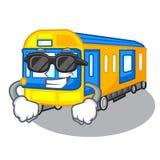 Toppen kall leksaker för gångtunneldrev i formmaskot royaltyfri illustrationer