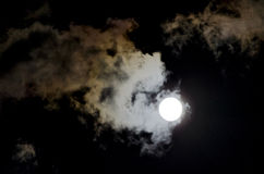Toppen-måne 2014 Royaltyfri Foto