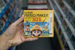 Toppen Mario Maker videogame Fotografering för Bildbyråer