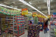 Toppen marknad Arkivbild