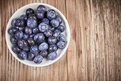 Toppen mat för blåbär med antioxidants Fotografering för Bildbyråer