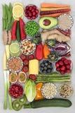 Toppen mat för goda hälsor royaltyfri bild