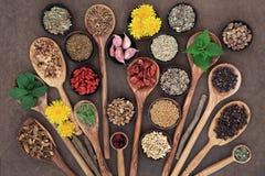 Toppen mat för leverDetox Royaltyfria Foton