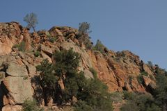 Toppen Nationaal Park rockscape Stock Afbeelding