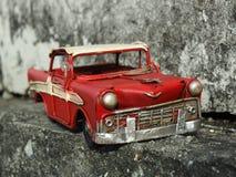 Toppen röd bil Royaltyfri Bild