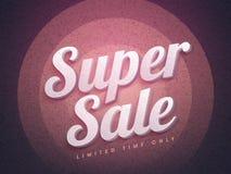 Toppen Sale affisch-, baner- eller reklambladdesign Royaltyfria Foton