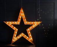 Toppen stjärna Royaltyfria Foton