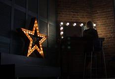 Toppen stjärna Royaltyfri Bild