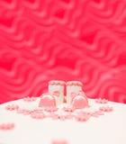 Topper on baptist cake Stock Images