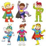 Toppet barn stock illustrationer