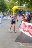Toppidrettsvecka Trondeim - sprint Immagine Stock Libera da Diritti