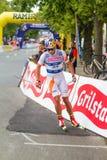 Toppidrettsvecka Trondeim - sprint Immagine Stock