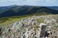 Toppig bergskedja de San Millà ¡ n 2 Fotografering för Bildbyråer