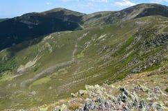 Toppig bergskedja de San Millà ¡ n & x28; Burgos Spain& x29; 3 Royaltyfri Bild