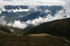 toppig bergskedja för 2 de merida nevada Royaltyfri Foto