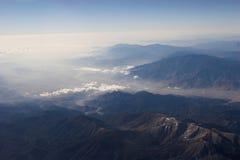 toppig bergskedja för 5 nevada Arkivfoto