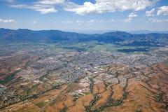 Toppig bergskedja utsikt, Arizona Royaltyfri Bild