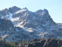 Toppig bergskedjaButtes Fotografering för Bildbyråer