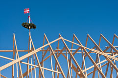 Topping-out ceremony Stock Images