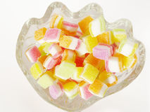 Topping sugar jelly Stock Photography