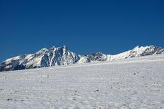 toppmöte för blå sky Arkivfoton