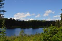Toppmöte sjö Fotografering för Bildbyråer