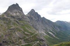 Toppmötet av berget Royaltyfri Fotografi