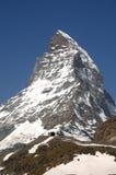 Toppmötet av Matterhornen Royaltyfri Fotografi