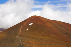 Toppmötet av Mauna Kea och Hawaii Royaltyfria Foton
