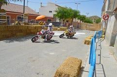 Toppna Moto Royaltyfria Bilder