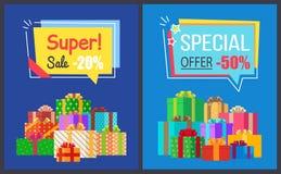 Toppna Sale bästa priser avfärdar 20 50 av affischer Arkivfoton