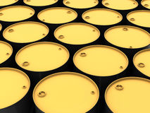 Tops of barrels Royalty Free Stock Photo