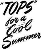 Tops For A Cool Summer Stock Photography