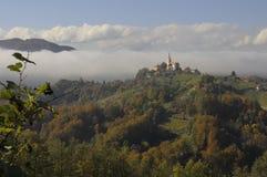 Tops de Eslovenia Fotografía de archivo libre de regalías