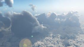 Tops de nube 1 Imagen de archivo