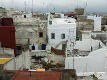 Tops del tejado en Morroco foto de archivo
