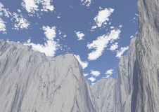 Tops of the mountains. Is an image of the peaks of a mountain Royalty Free Stock Image