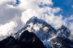 Tops nevados Foto de archivo