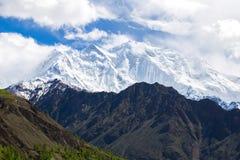 Tops nevados Fotografía de archivo