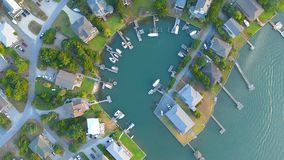 Drone View, Looking Down stock image