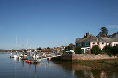 Topsham and River Exe Stock Photos