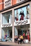 topshop магазина одежды Стоковая Фотография RF
