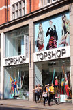 Topshop clothing store Royalty Free Stock Photography