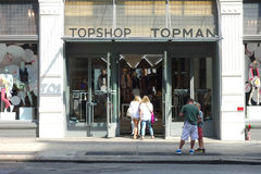 Topshop Royalty Free Stock Photo