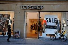 TOPSHOP-VERKAUF BIS ZU 50% WEG Lizenzfreies Stockbild