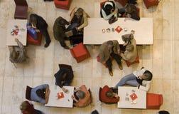 Topshot da cafetaria Imagem de Stock