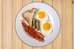 Topside Breakfast Platter royalty free stock photography