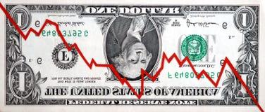 Topsy-turvy Stock Market Stock Photography